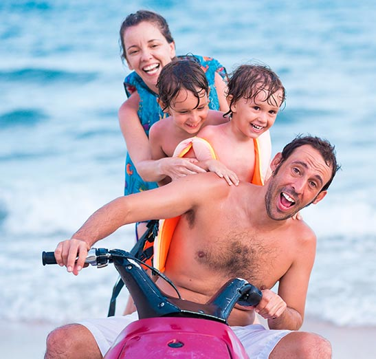 Jet Ski Insurance - family watercraft insurance